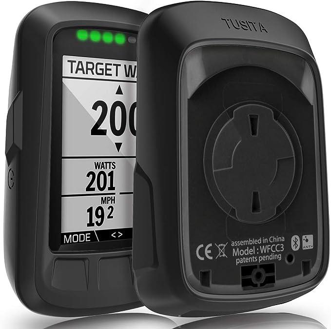 kwmobile Funda Compatible con Wahoo Elemnt Carcasa de Silicona para GPS Cover en Negro