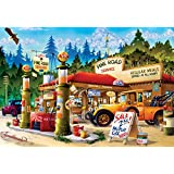 Buffalo Games Pine Road Service Jigsaw Puzzle (1000 Piece)