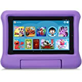 Kid-Proof Case for Fire 7 Tablet (Compatible with 9th Generation Tablet, 2019 Release), Purple
