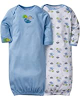 Gerber Baby Boys' 2 Pack Gowns