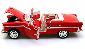 Motormax 1955 Chevy Bel Air 1/24 Scale Diecast Model Car Review