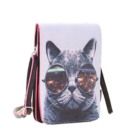 233373a9d552 Dukars Women Portable Small Crossbody Bags Travel Cell Phone Purse Wallet  Bags