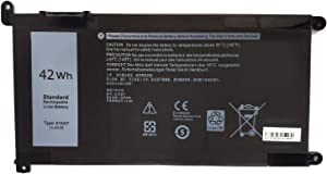 Ding 51KD7 Replacement Laptop Battery Compatible with Dell Chromebook 11 3180 3189 Series Notebook Y07HK FY8XM 0FY8XM (11.4V 42Wh)