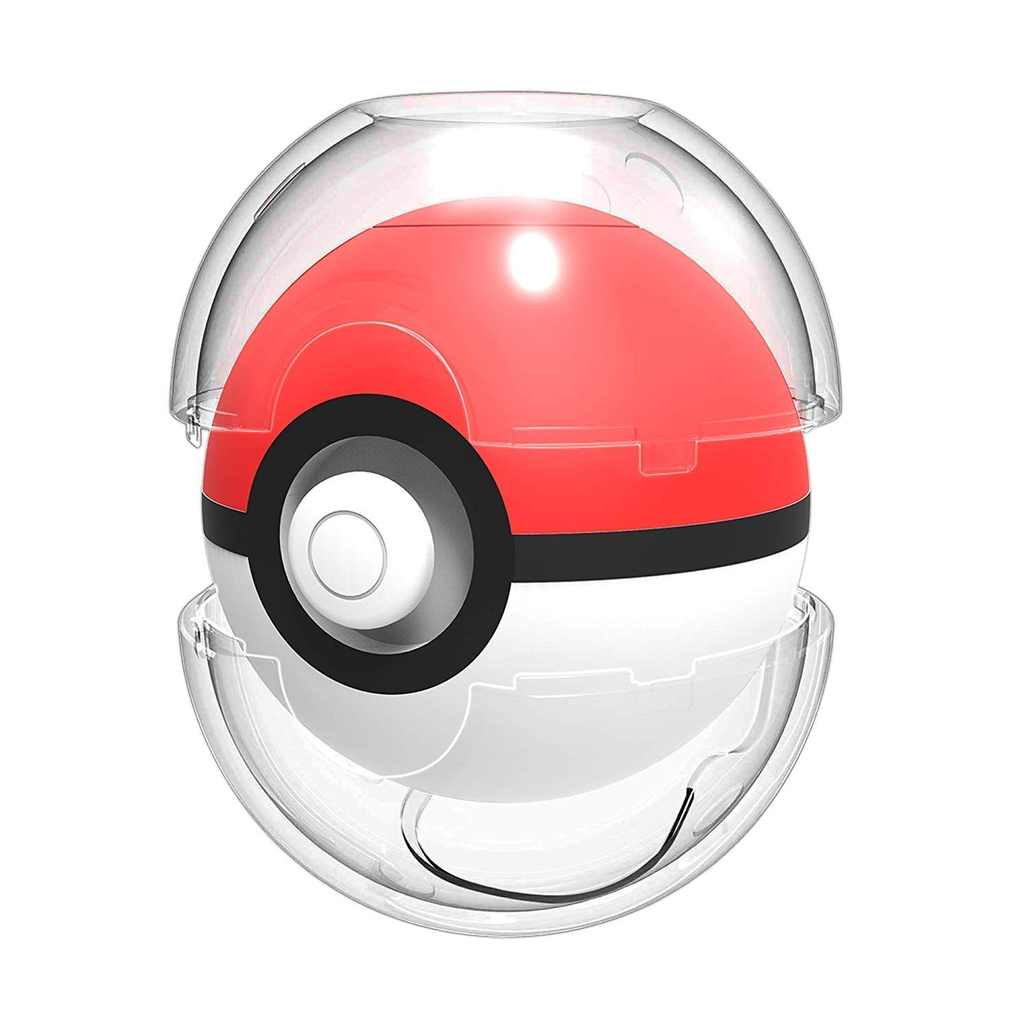HEYSTOP Funda de Transporte Compatible Pokemon Poke Ball 2018 Plus, Funda Pprotectora de Viaje Portátil para Viaje de Pokeball para Nitendo Switch ...