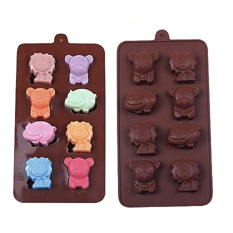 YOKIRIN® Molde molde de silicona Leo de accesorios para la decoración de la torta de