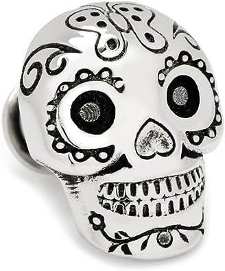 3d día de la muertas cráneo Pin de solapa de tradiciones mexicanas ...