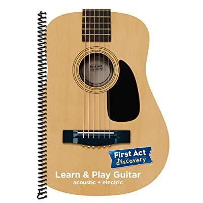 First Act FALPG3 Learn & Play Guitar Book: Musical Instruments