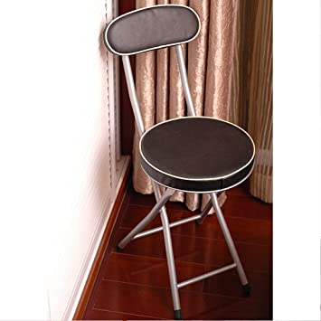 Awe Inspiring Amazon Com Yxyh Japanese Style Back Stool Folding Chair Theyellowbook Wood Chair Design Ideas Theyellowbookinfo
