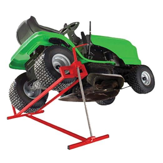 Blitzzauber24 levador para segadora, cortacésped, Tractor ...