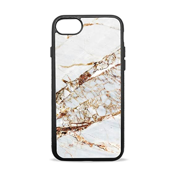 sale retailer e159f 95b76 Amazon.com: Cracked Marble Case Compatible with iPhone7 / 7plus ...