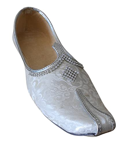 Men's Traditional Indian Silk Party Shoes