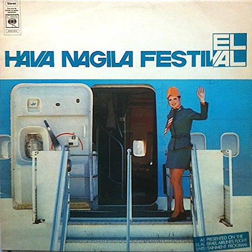 Hava Nagila Festival 1973 Volume 1 El Al Israel Airlines Vinyl DieCut CBS (Israeli Airlines)