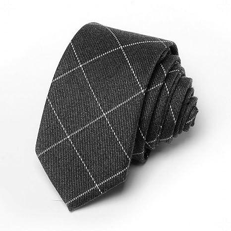 Wangwang454 Corbata de Rayas de Tela Escocesa a Rayas de los ...