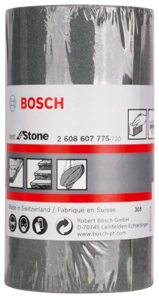 Bosch 2608607775 Rouleau abrasif C355 93 mm x 5 m grian 320