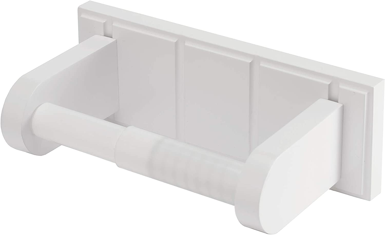 Croydex Toilet Roll Holder, Pine, White, One Size