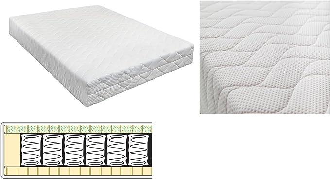 7 zonas Multi Pocket cama de colchón con somier 70 x 200 cm ...
