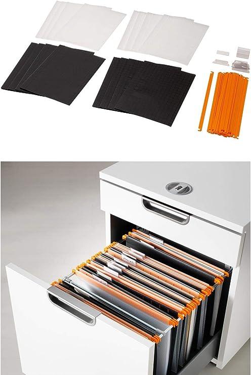 Ikea Summera Carpeta colgante con 16 unidades para din A4: Amazon.es: Oficina y papelería