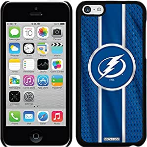 fashion case iphone 5s Black Thinshield Snap-On Case with Tampa Bay Lightning Jersey Stripe Design