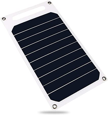 Weehey Panel Solar de 6W 5V con Puerto USB Célula Solar de ...
