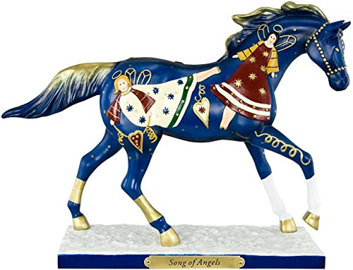 Enesco Trail of Painted Ponies from Song of Angels Figurine 7 in