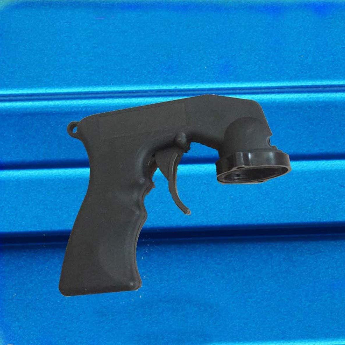 Rouku Adattatore per spruzzo Cura della Vernice Bomboletta Spray Bomboletta per Pistola con Impugnatura a Scatto Completo Collare di bloccaggio Manutenzione Auto per verniciatura