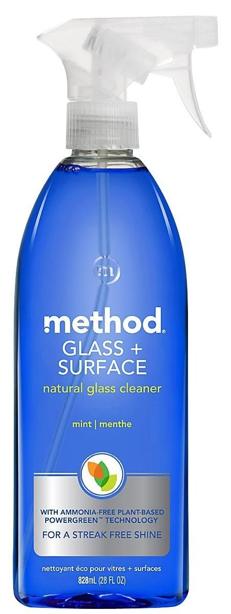 Method Natural Glass + Surface Cleaner - Mint - 28 oz