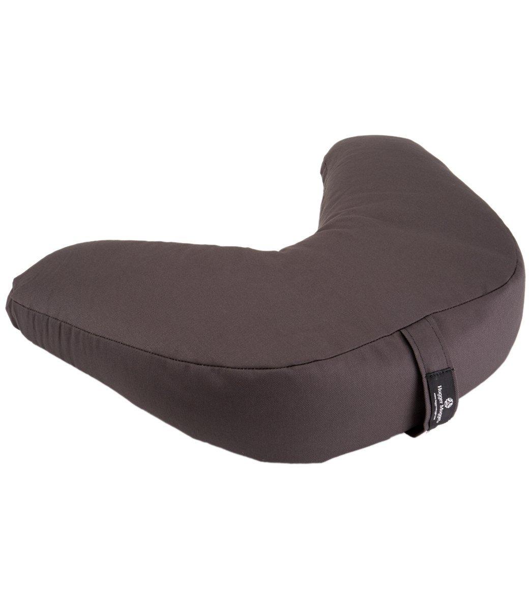 Hugger Mugger V-Shaped Yoga Cushion - Gray