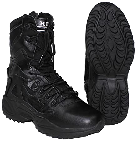 mfh tactical  MFH Tactical Boots, Padded, Black: Amazon.: Sports & Outdoors
