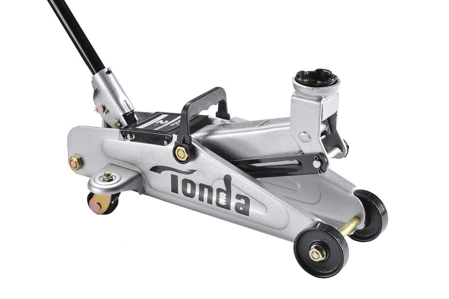 TONDA Floor Jack, 2 Ton Hydraulic Trolley Car Jack, Work for Sedan and Coupe