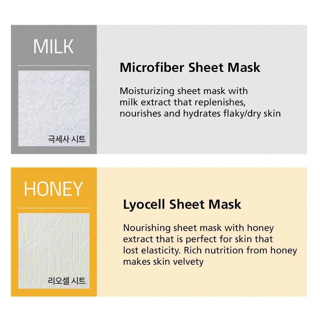 Amazon.com: [lapcos] Daily Piel Máscara Facial Hoja 4 Tipo ...