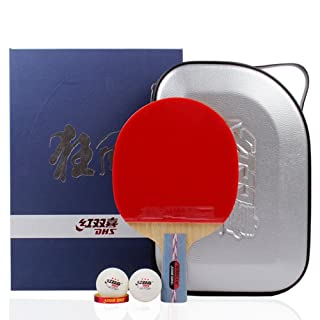 DHS Hurricane no.1 no.2 Professional Tournament Table tennis racchetta da ping pong Paddle set