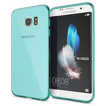 NALIA Funda Compatible con Samsung Galaxy S7 Edge, Ultra-Fina Protectora Movil Carcasa Transparente Silicona Gel Bumper Estuche, Goma Cubierta Delgado ...