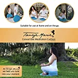 Tangie Marie Convertible Meditation Cushion Yoga