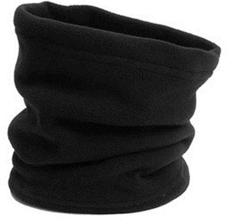 Polar Fleece Thermal Neck Warmer Winter Sports Gaiter Face Mask Snood Hat Scarf