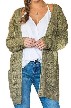 Chaqueta De Punto Mujer Fashion Anchos De Punto Outerwear ...