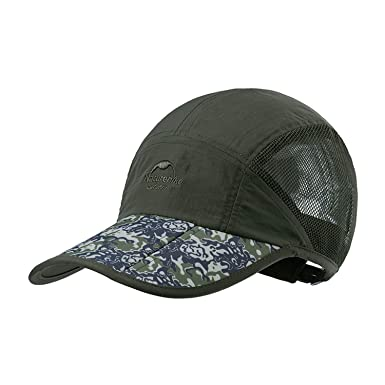 f064ec49511 Baseball Cap Quick Dry Travel Hats Sun Protection Hats for Sports Golf  Running Fishing Hiking Outdoor Research Army Green at Amazon Men s Clothing  store