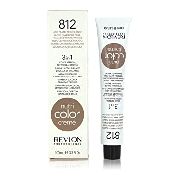Nutri Color Creme Tube By Revlon Professional 812 Light Pearly Beige