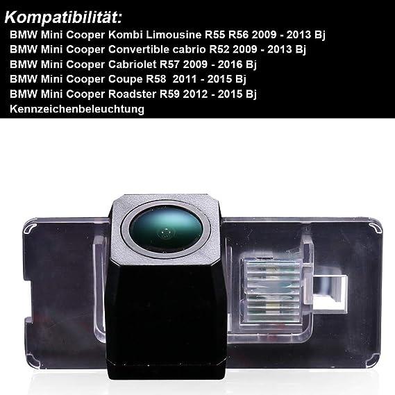 Nachtsicht R/ückfahrkamera Kamera Griffleiste Farbkamera Wasserdicht f/ür X5 X1 X6 E39 E53 E82 E88 E84 E90 E91 E92 E93 E60 E61 E70 E71 E72 F30 5er F10 X4 F26 X3 F25 X5 F15