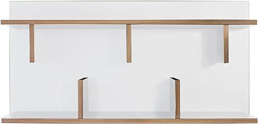 Tema Home 9000.318078 - Mueble de Oficina en casa, Color Blanco: Amazon.es: Hogar