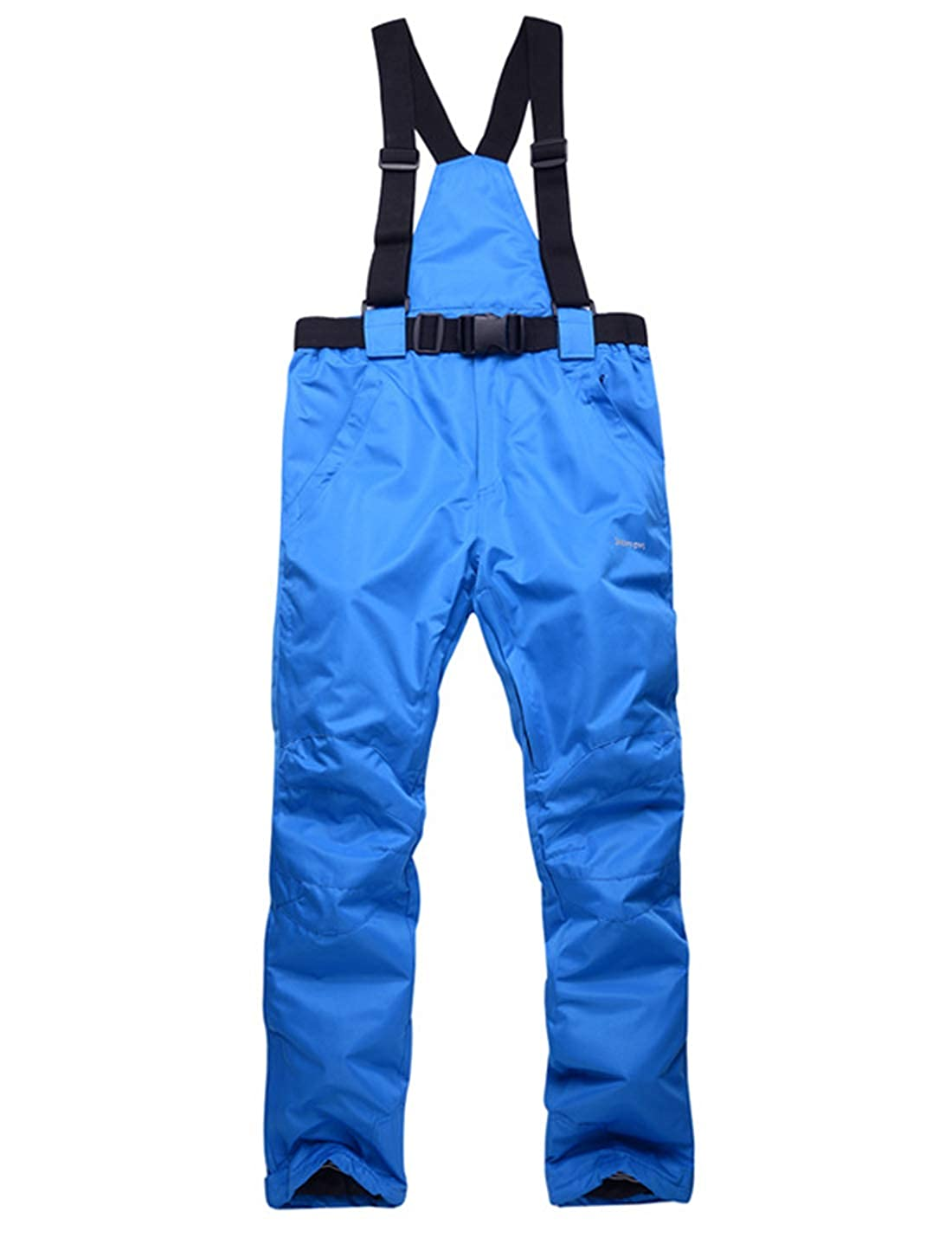 Gihuo Womens Padded Insulated Waterproof Snow Overalls Ski Bibs