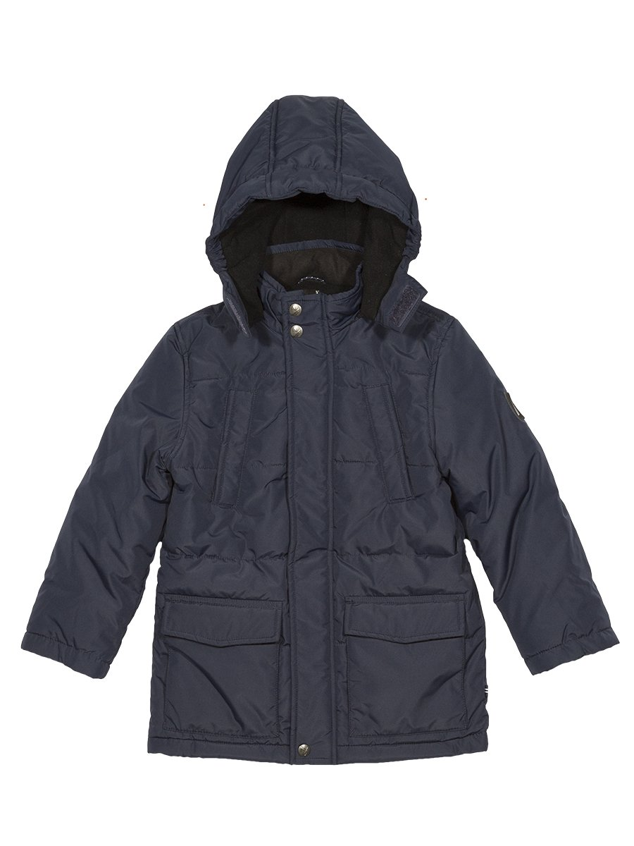 Nautica Boys' Little' Midship Snorkel Jacket with Storm Cuffs, Sport Navy, Small (4)