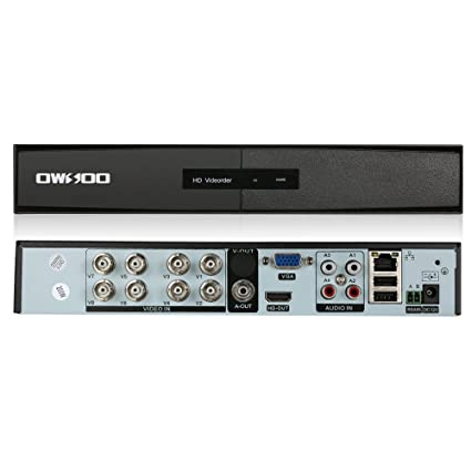 Amazon com: OWSOO 8CH Network Video Recorder, H 264 AHD