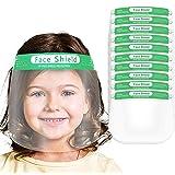 Msungsa Children's Face Bandanas Cartoon Printing Lightweight Face Guard Washable Safety Shield Reusable Face Bandanas for Ki