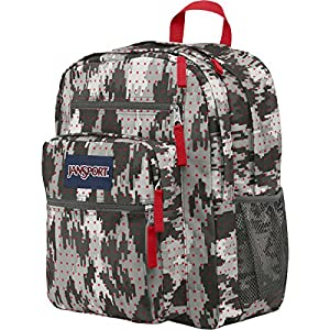 JanSport Big Student 2015 Spring Collection (High Risk Red Camo Dots)