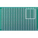 BB3U BusBoard-3U, Zig-zag Busses, 1 Sided PCB, Soldermask, Accepts DIN Conn., 3.94 x 6.30 in (100 x 160 mm)