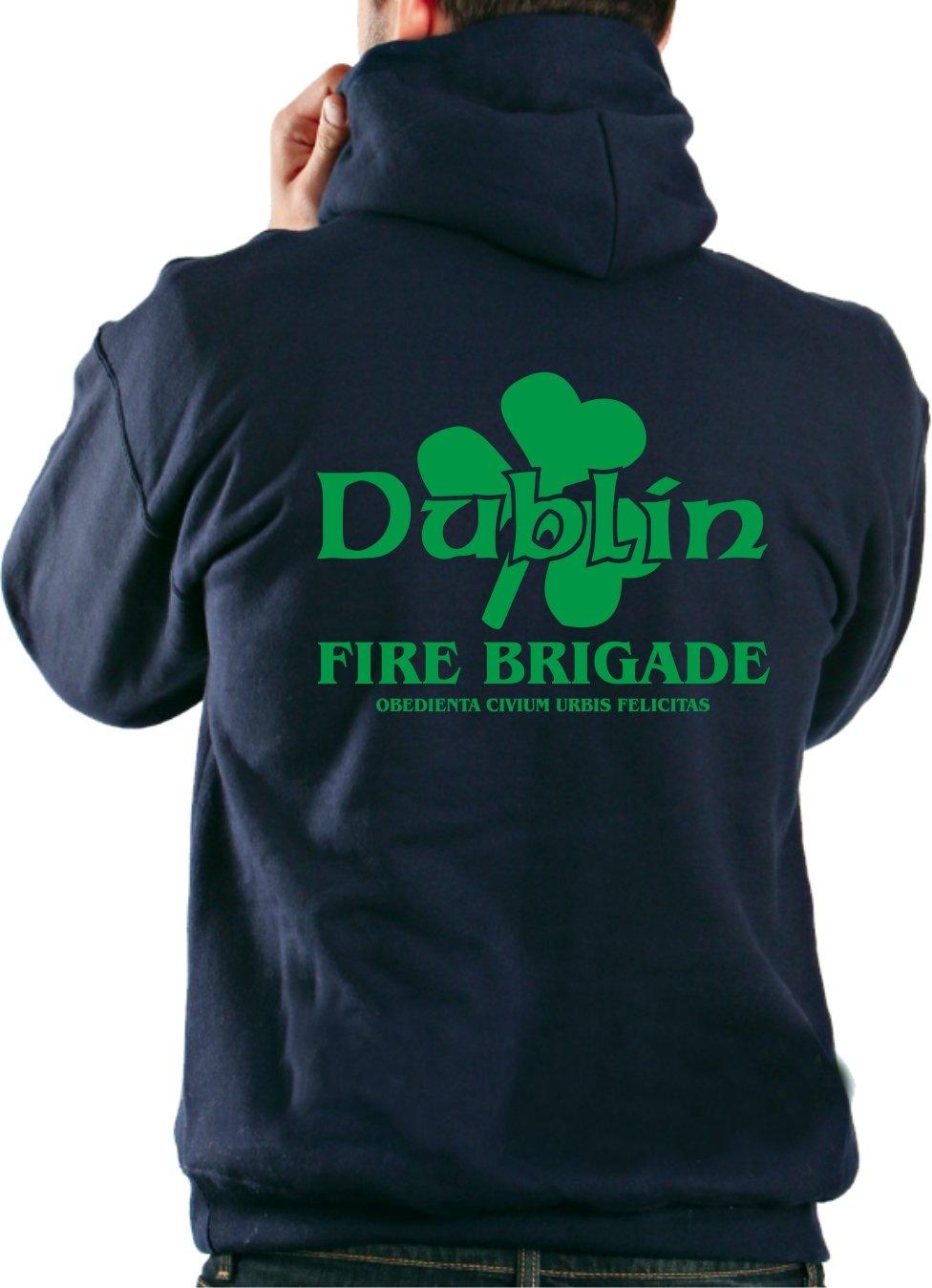 Felpe con cappuccio Navy, Dublino Fire Brigade (Irl) feuer1