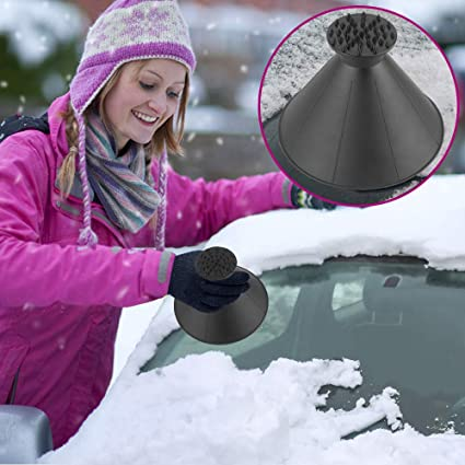 "NEW HIGH QUAILITY  7/"" WINDOW  ICE SCRAPER  PURPLE  HD-40  NICE LITTLE SCRAPER"