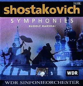Dmitry Shostakovich: Complete Symphonies - WDR Symphony Orchestra / Rudolf Barshai