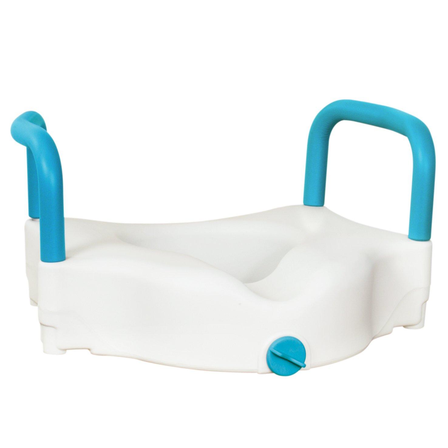 AquaSense 3 in 1 Raised Toilet Seat Amazon Health & Personal Care