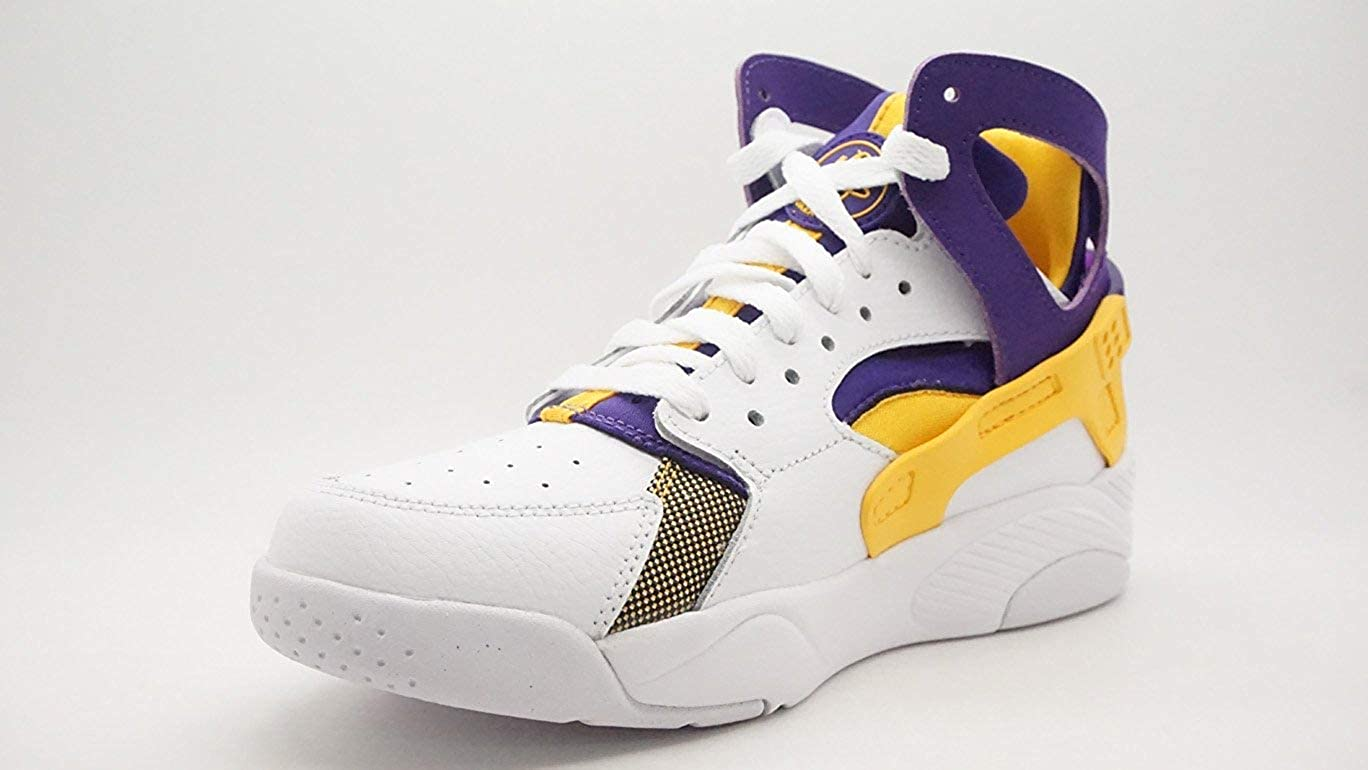 best service 43edb 7eb9e Amazon.com   Nike Flight Huarache (GS) hi top Trainers 705281 Sneakers Shoes    Sneakers